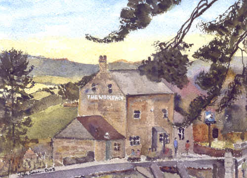 The Woolpack - Slad Gloucestershire